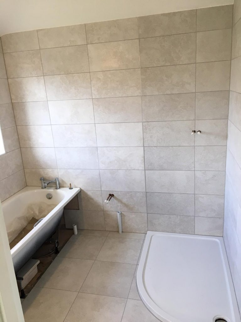 2019-14 Bathroom Tiling, Exeter